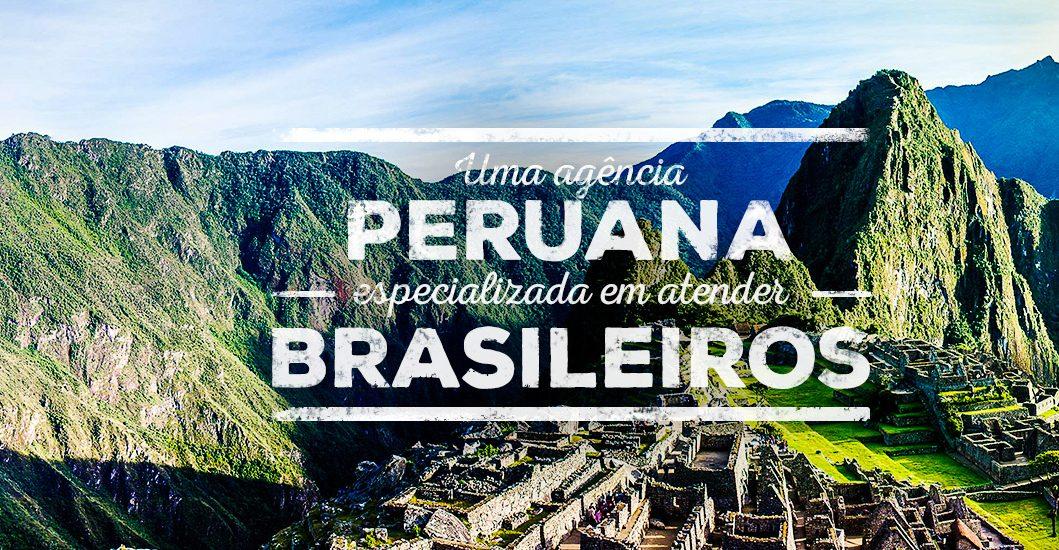 Uma agência peruana especializada em atender brasileiros.