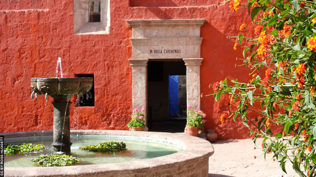 Maior mosteiro do sul do Peru