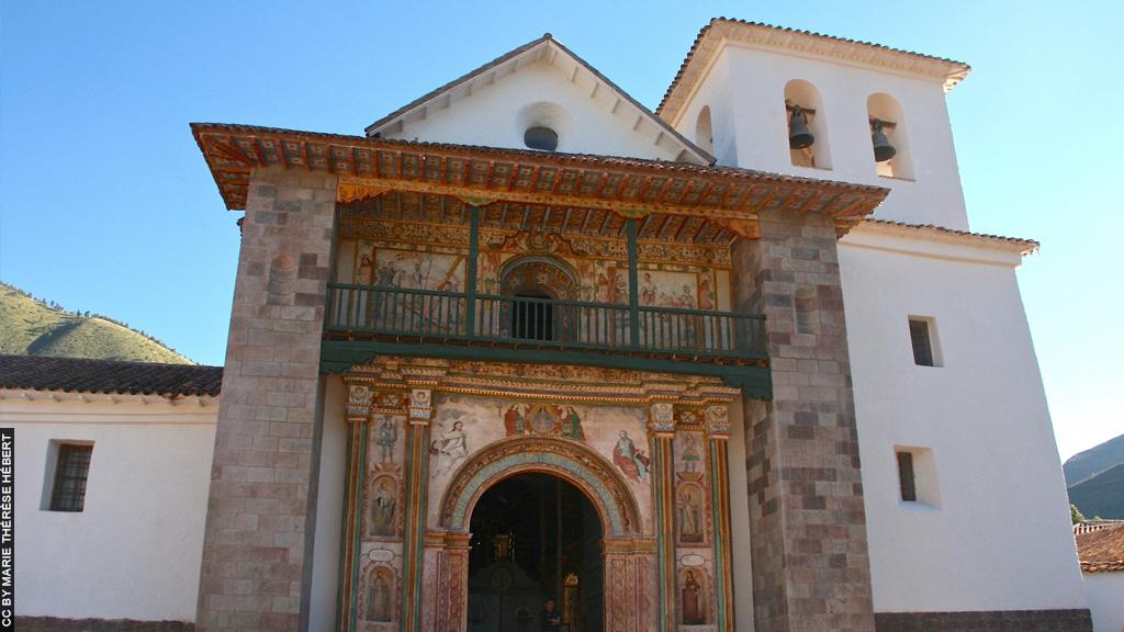 Blog Viagens machu Picchu_Rota do Sol_Andahuaylillas_Igreja_de_San_Pedro