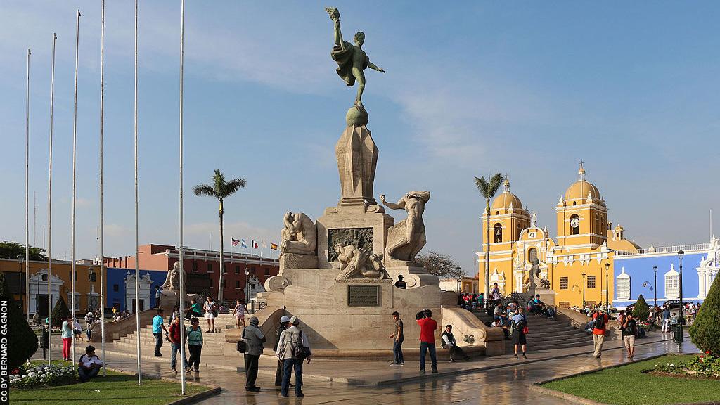 Trujillo_Peru_Plaza de Armas