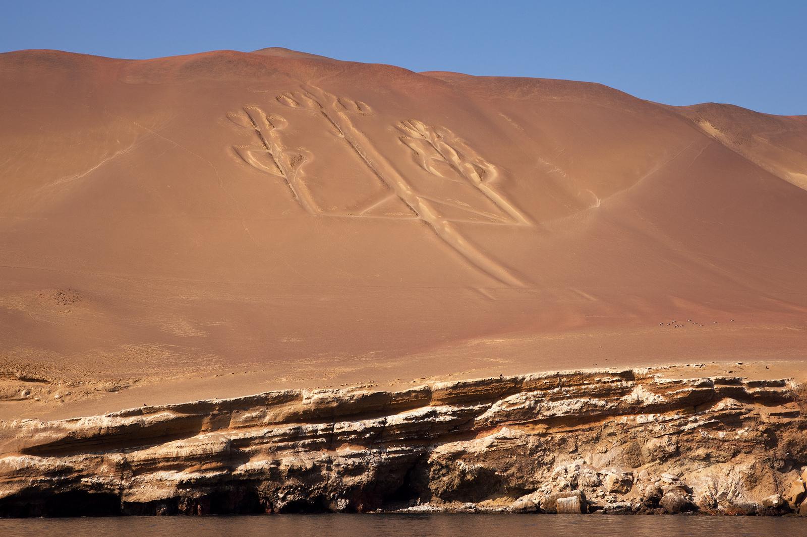 O Candelabro em Paracas - Peru
