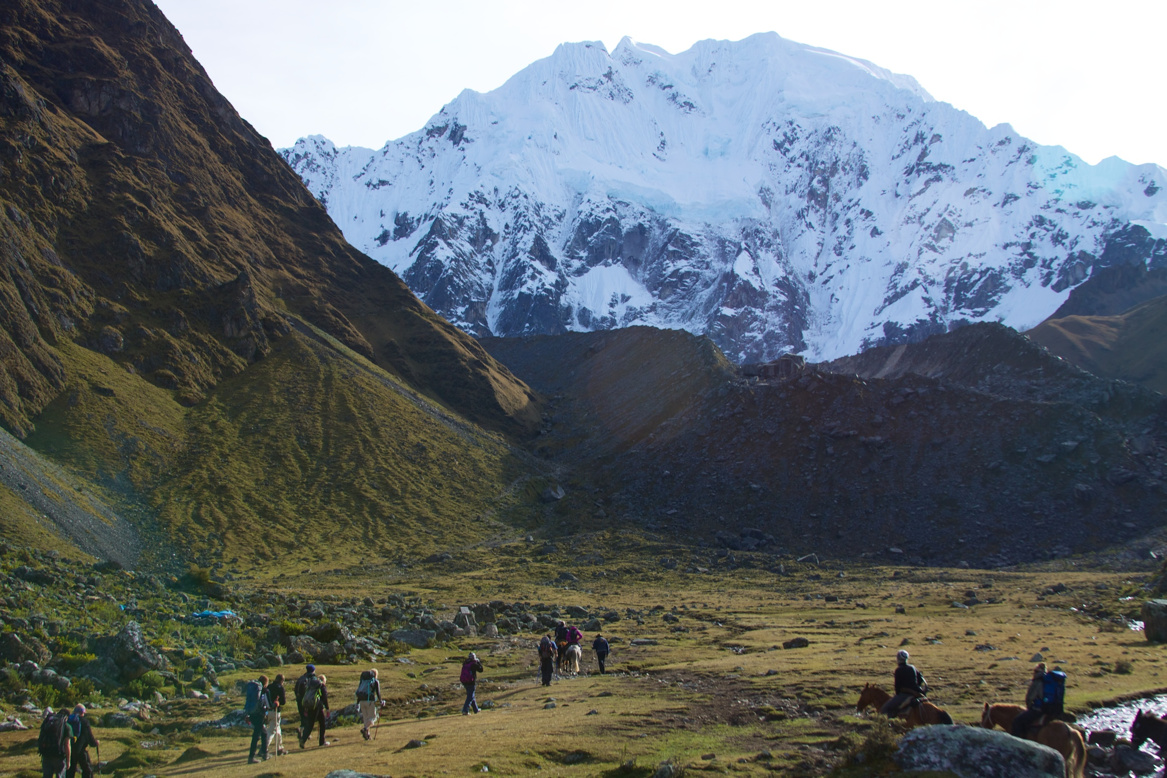 Trilha Salkantay: outra aventura que te leva a sagrada cidade de Machu Picchu.