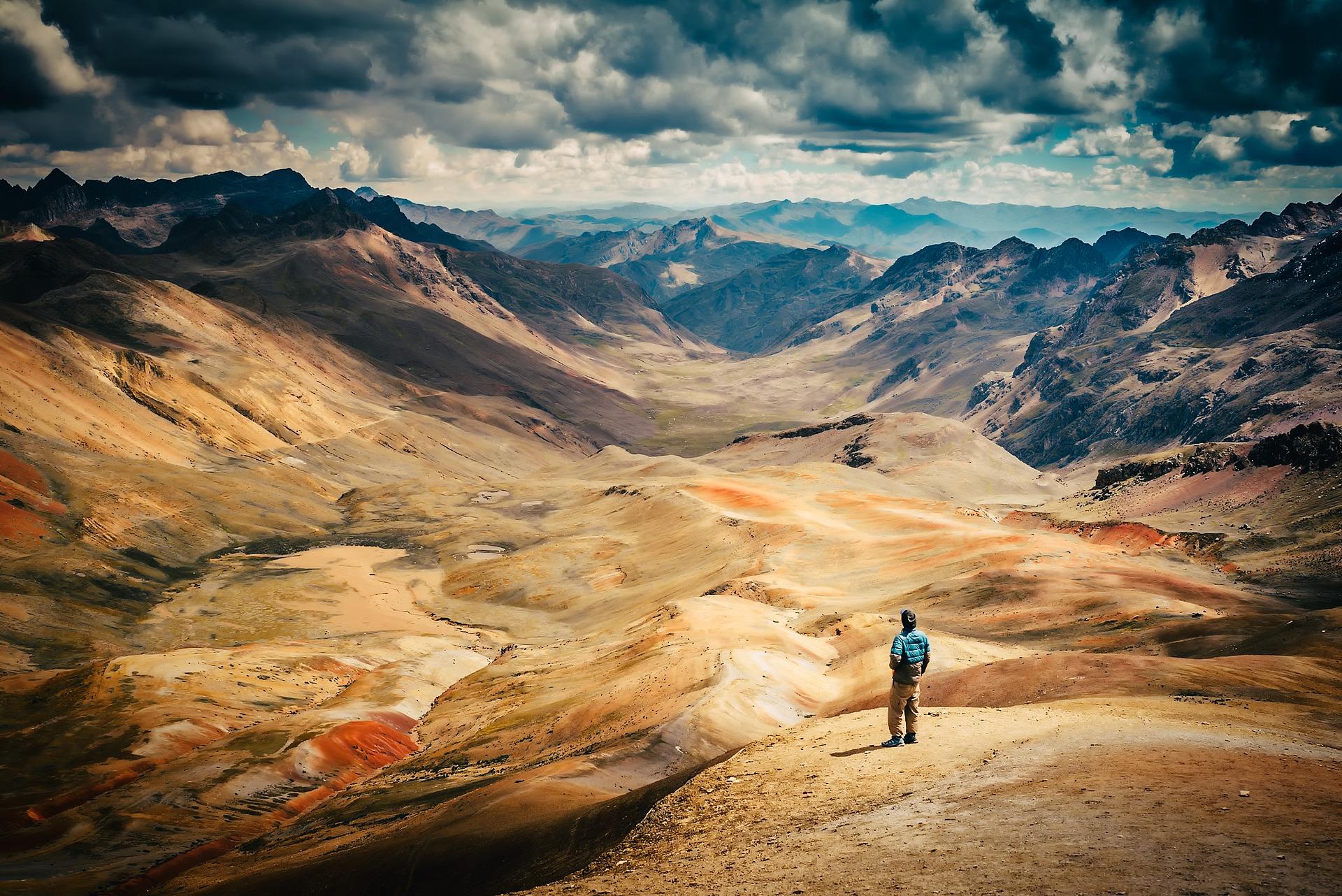 Trilha da Montanha 7 cores ou Montanha Arco Iris