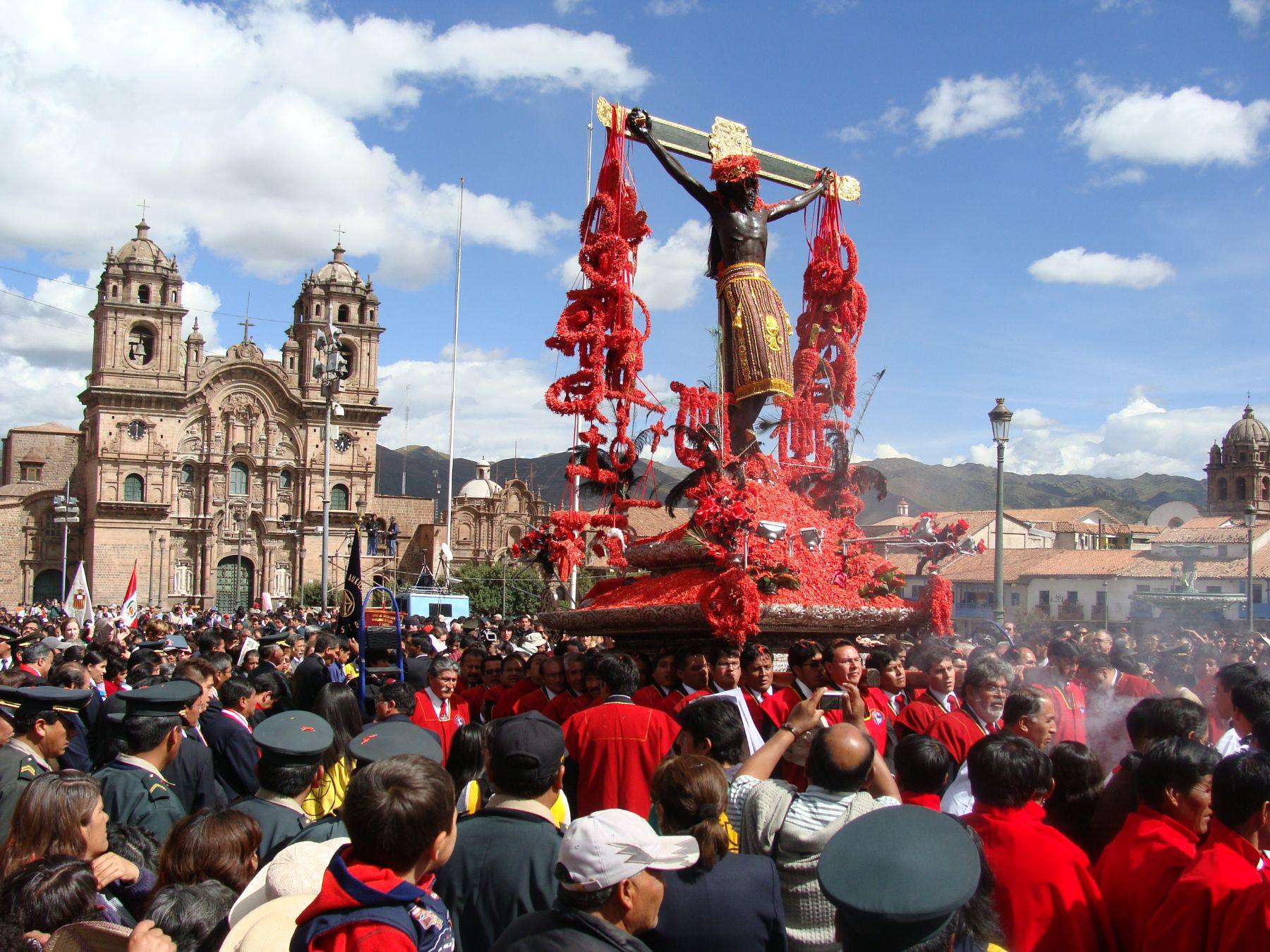 Señor de los Temblores: bonita e tradicional festa da Semana Santa de Cusco.
