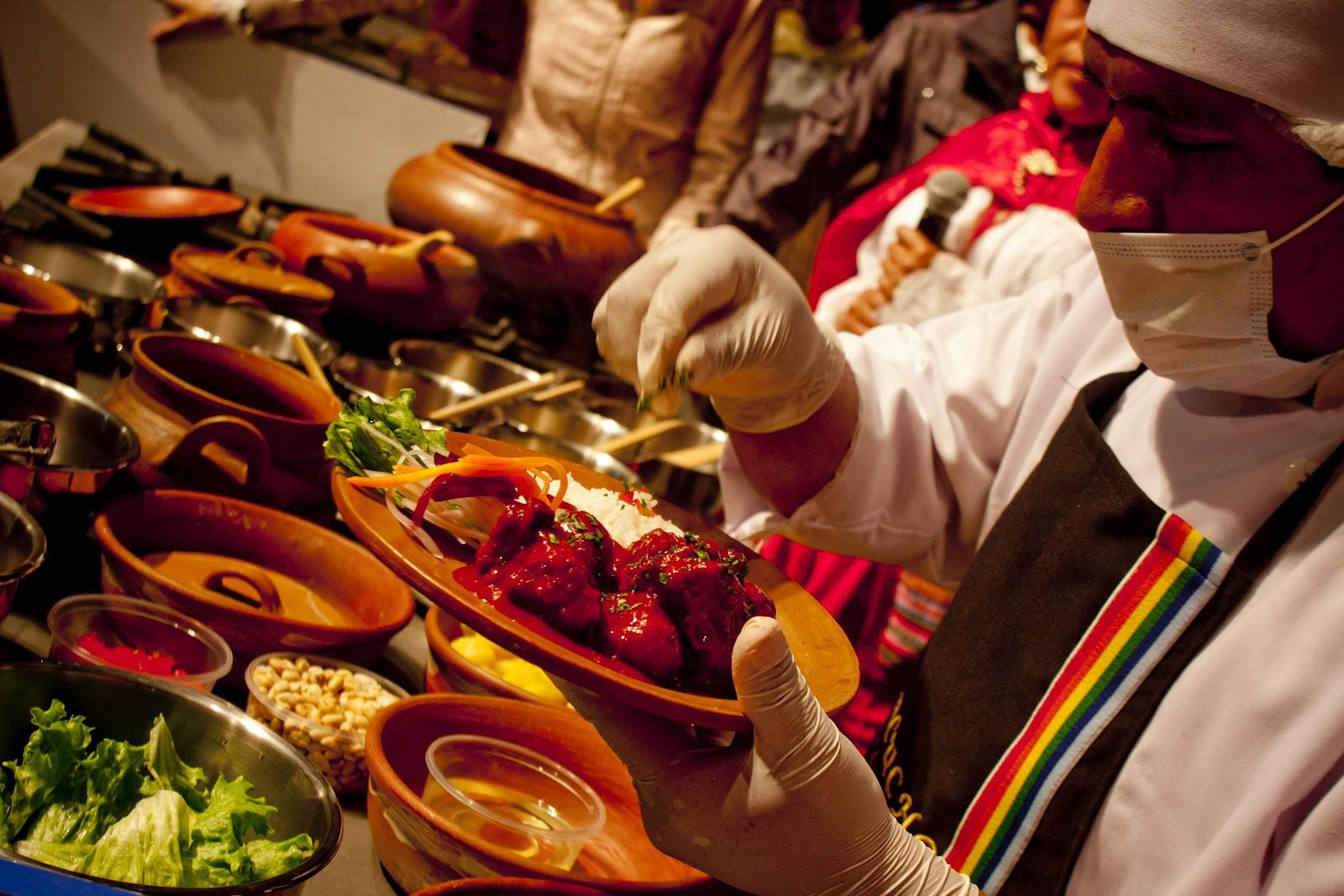 Feira Gastronômica Mistura - o festival do sabor de Lima.